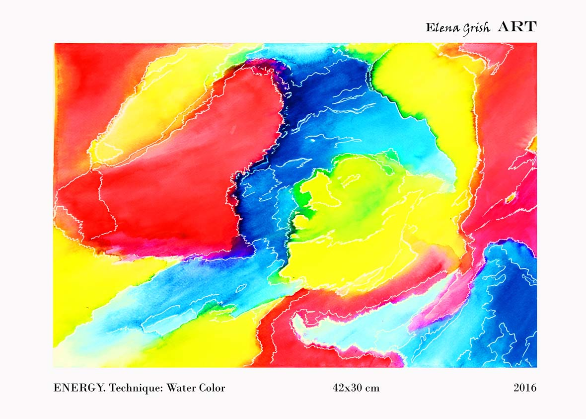 Energy Serie. Water Color.