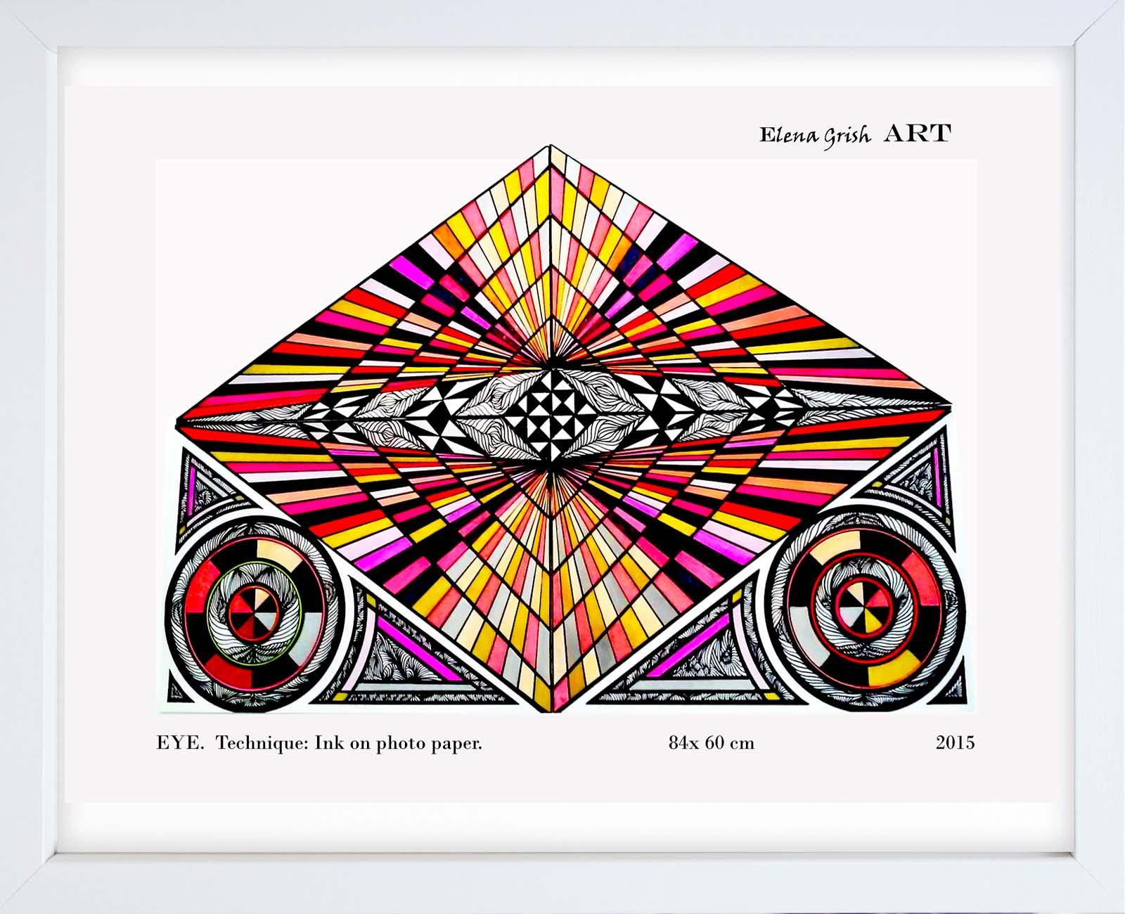 Geometry. Paintings Serie.