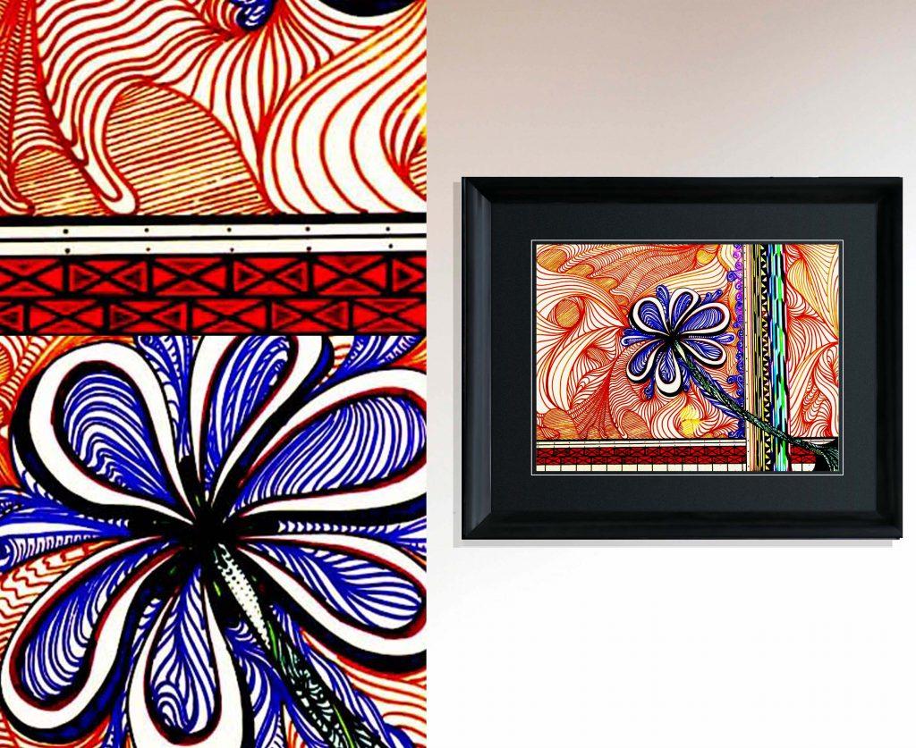 flower_elena grish art_painting_art gallery