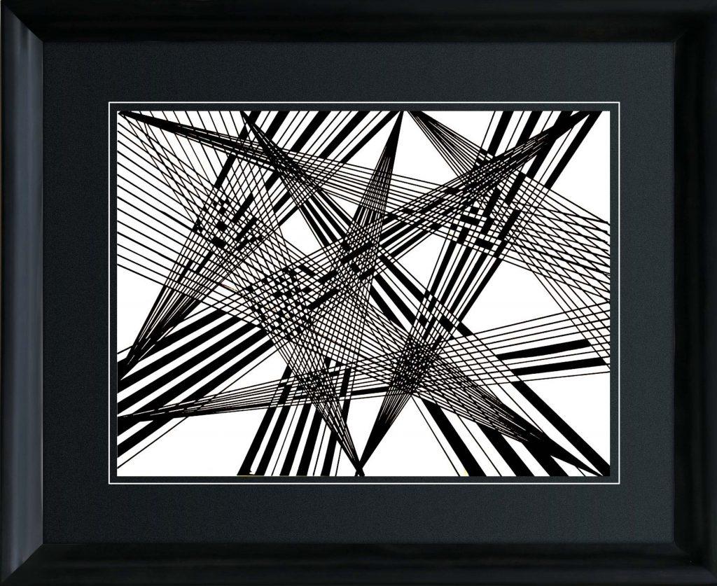 19.geometry black lines