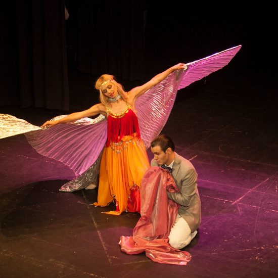 Y volvió a Granada_Festival Nacional de Teatro de Úbeda_Teatro Ideal Cinema_Elena grish